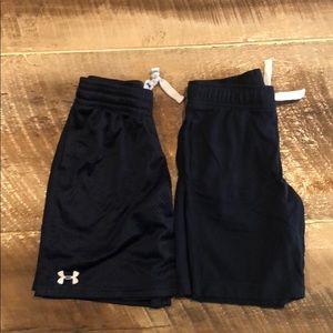 Boys shorts, under Armour Gymboree
